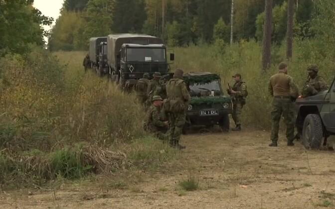 Defense League Sibul 2020 (Onion 2020) exercise in Vüru County.