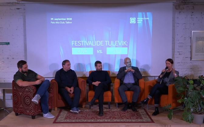 Tõnn Kuuli, Meelis Kubits, Martin Ruus, Kristjan Hallik, Helen Sildna