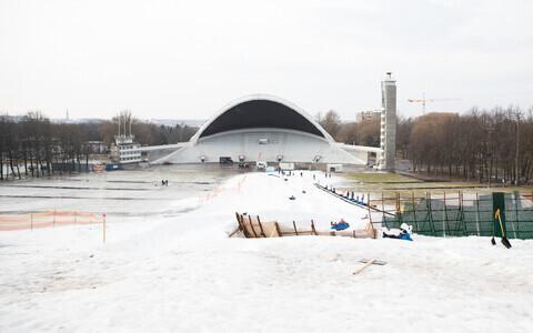 Talvine Tallinna lauluväljak