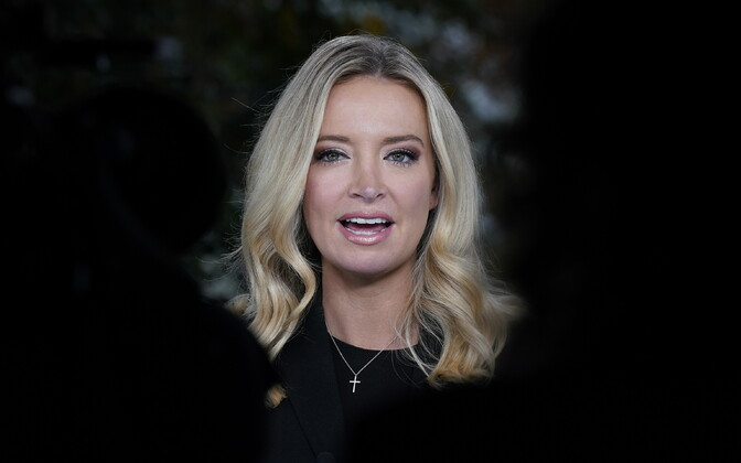 Valge Maja pressiesindaja  Kayleigh McEnany.