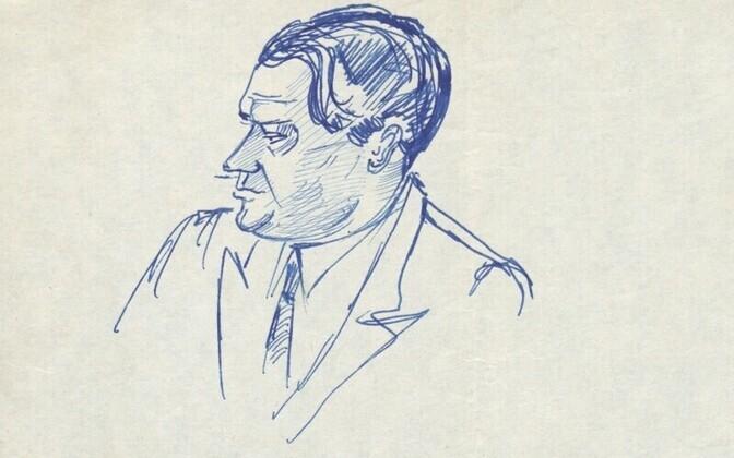 Портрет Б.Ф. Егорова.