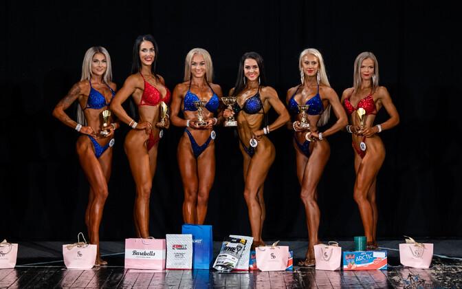 Lõuna-Eesti kulturismi ja fitnessi karikal domineeris Liis Marian Toomse (number 56)