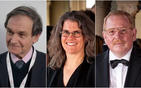 Nobeli auhinna füüsikas pälvisid sel aastal Roger Penrose, Andrea Ghez ja Reinhard Genzel.