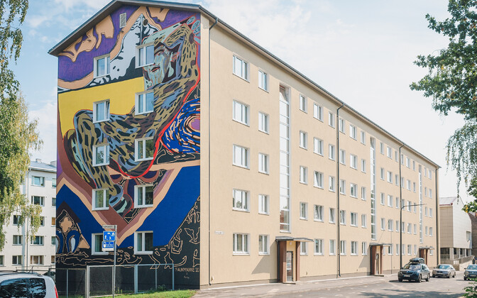 The Faun by Mall Nukke on Aleksandri 12, Tartu.
