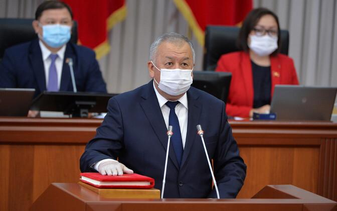 Kõrgõzstani peaminister Kubatbek Boronov andis peaministri ametivande alles tänavu juunis.