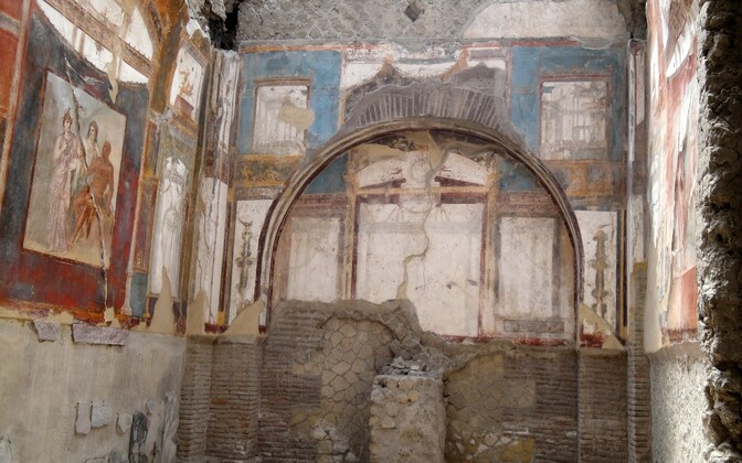 Herculaneumi Augustaalide kolleegium oli linna peatänaval asunud hoone, kus kogunesid keiser Augustust jumalana kummardava sekti liikmed.