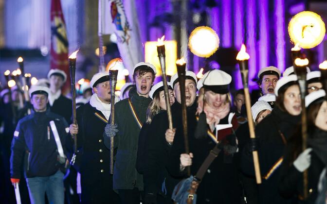 Финские студенты.