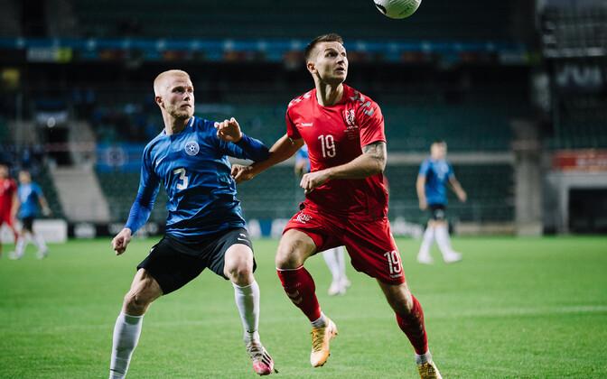Jalgpalli maavõistlusmäng: Eesti – Leedu