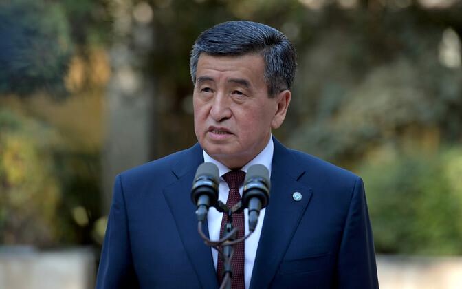 Kõrgõzstani president Sooronbaj Džeenbekov.