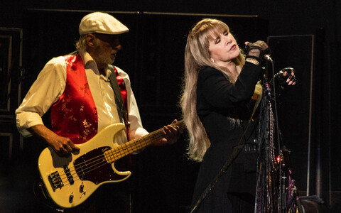 Stevie Nicks (paremal) ja John McVie Fleetwood Macist.