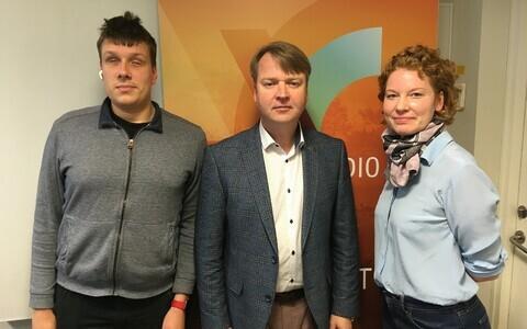 Jakob Rosin, Taivo Pahmann ja Erle Loonurm