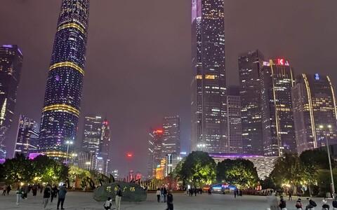 Guangzhou, Lõuna-Hiinas asuva Guangdongi provintsi pealinn.