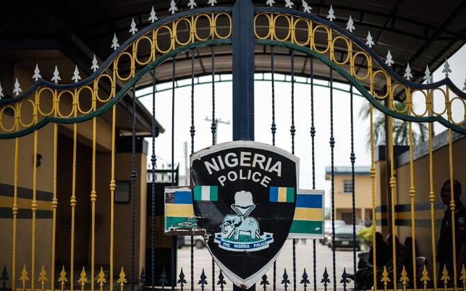 Politseijaoskond Port Harcourti linnas.