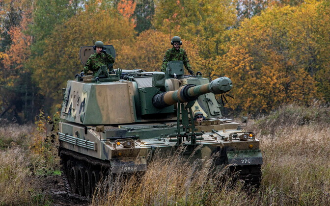 K9s being tested in Estonia.