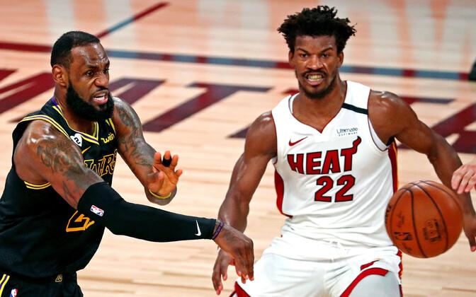 LeBron James ja Jimmy Butler finaalseeria viiendas mängus