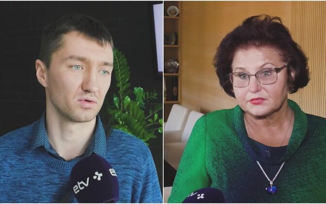 Сергей Бучинский и Людмила Янченко.