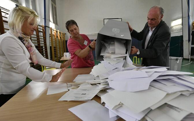 Valimised Ungaris.