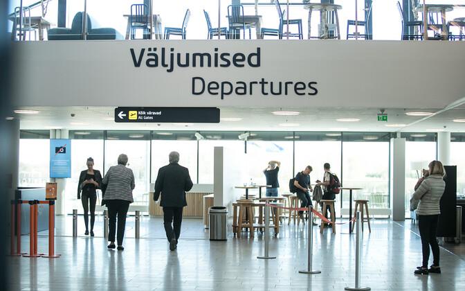 The passenger terminal at Tallinn Airport.