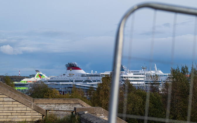 Reisilaevad Tallinna sadamas