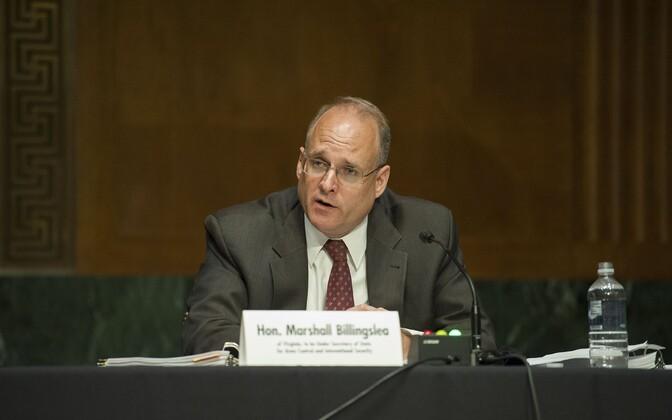 USA presidendi eriesindaja relvastuskontrolli küsimustes Marshall Billingslea.