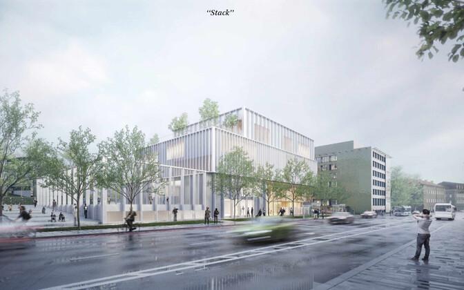 Работа, выигравшая конкурс на проект будущей Тынисмяэской госгимназии - Arhitekt11/Lunden Architecture