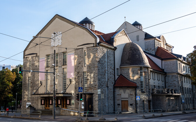 The Estonian Drama Theater in central Tallinn.
