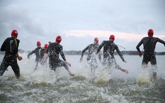 Võistlejad Ironman Tallinnal
