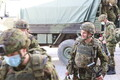 Uute sõdurite saabumine Tapa linnakusse