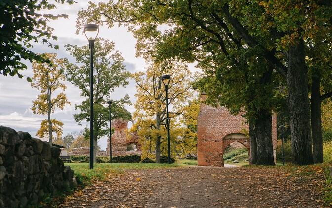 Viljandi in fall.