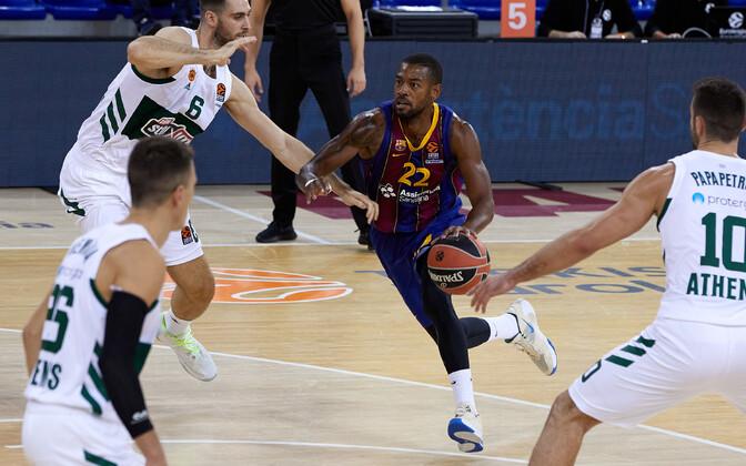 Cory Higgins (palliga) oli Barcelona resulatiivseim
