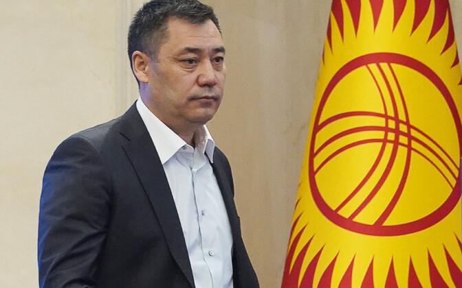 14 октября депутаты парламента Киргизии повторно избрали премьером Садыра Жапарова.