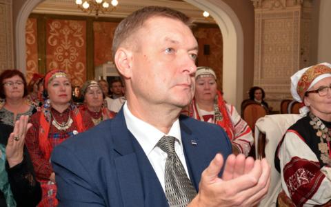 Raivo Tamm Eesti Rahvuste XXXII Foorumil Tallinnas 20. septembril 2020.
