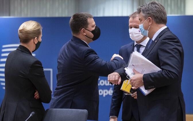 Euroopa Liidu liidrid Ülemkogul.