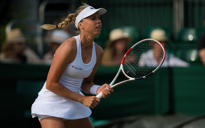 Anett Kontaveit 2019. aasta Wimbledoni turniiril