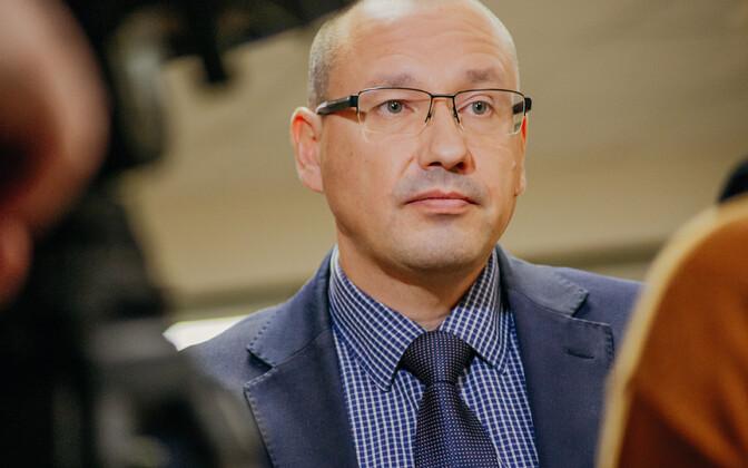Dr. Arkadi Popov, head of the Health Board's (Terviseamet) emergency medicine department.