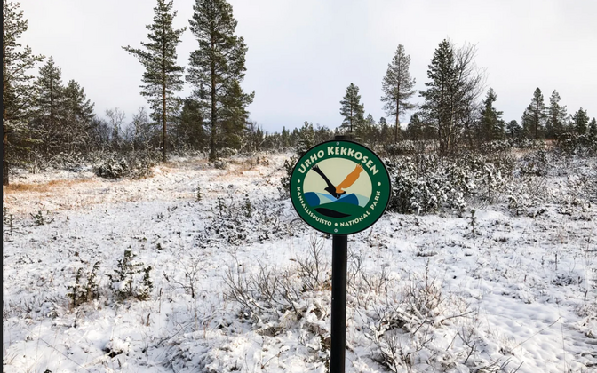 Urho Kekkoneni rahvuspark Soomes.