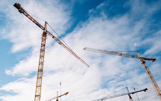 Строительство.
