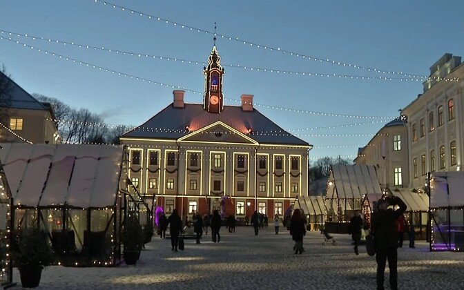 Tartu Christmas Market.