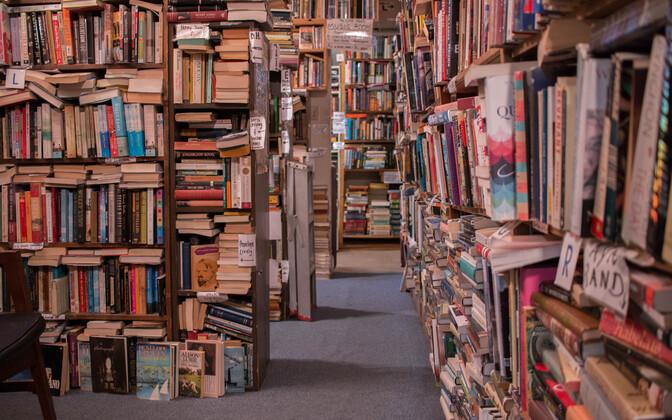 В Эстонии стали печатать меньше книг, но любовь к чтению у населения не ослаба. Иллюстративная фотография.