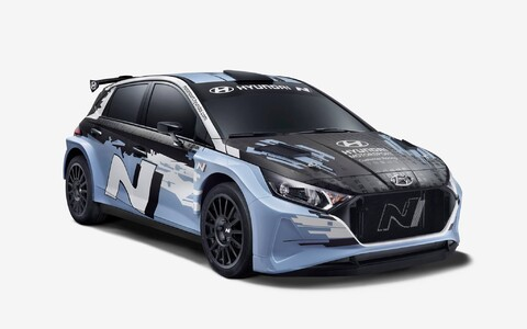 Hyundai i20 N Rally2.
