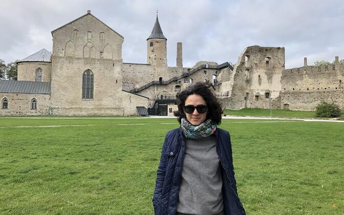 Karine Ghazaryan in Haapsalu.