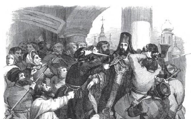 Piiskop Ambrosiuse tapmine