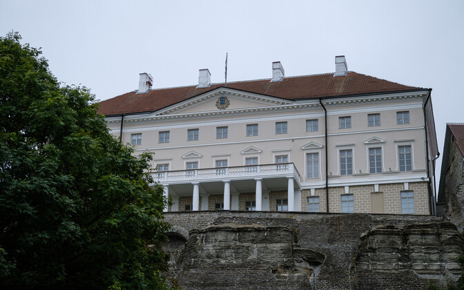 Stenbock House, seat of the government.