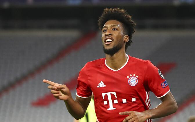 Kaks väravat löönud Kingsley Coman (Müncheni Bayern)