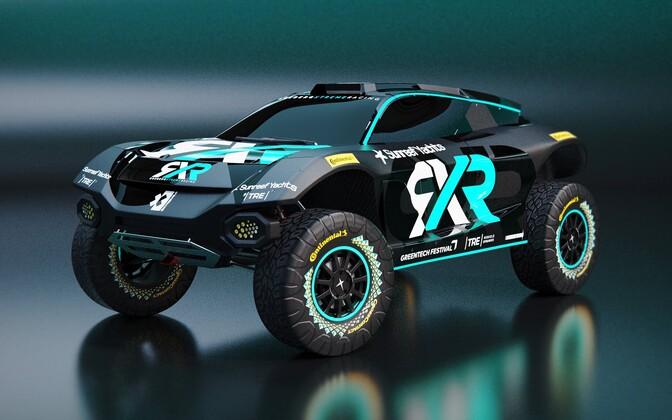 Rosberg Extreme Racing võistkonna masin