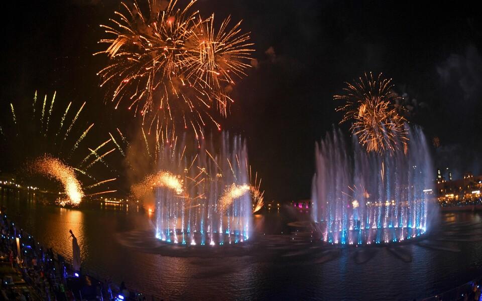 Maailma suurim purskkaev Dubais