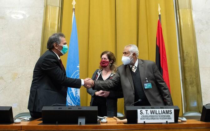 В Женеве достигли соглашения о постоянном перемирии в Ливии.