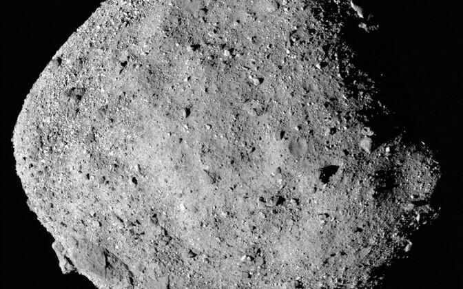 Asteroid Bennu.