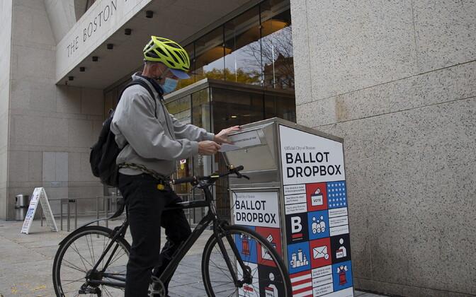 Eelhääletamise valimiskast Bostonis.