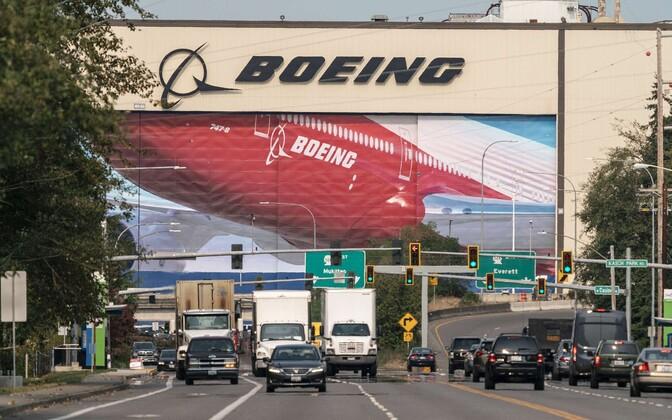 Boeingu lennukitehas USA Washingtoni osariigis.